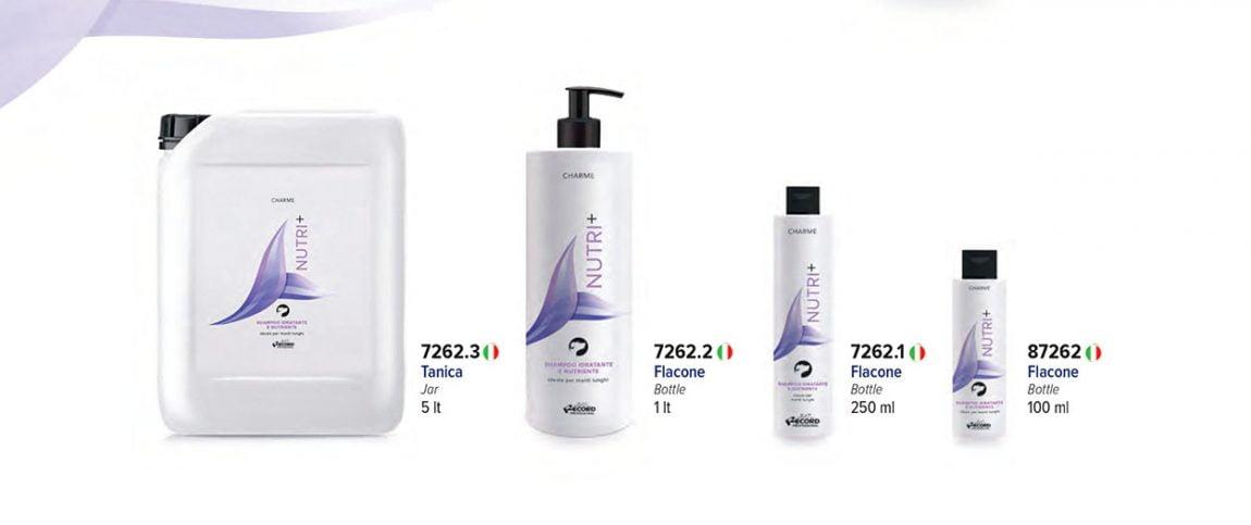 Shampoo idratante e nutriente Nutri+
